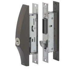 ディンプルキー仕様の引き戸錠
