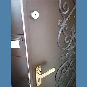 施工前の鍵