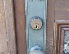 実績紹介:装飾錠の交換