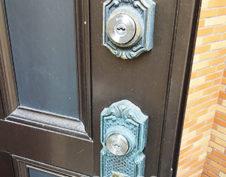 名古屋市南区で貸家の鍵を交換しました
